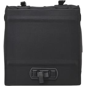Basil Mara Pannier Bag XXL, currant, black